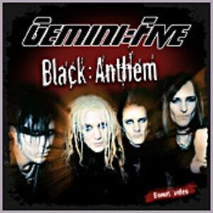 "Gemini Five - ""Balck Anthem"" - 2006 - CD Single"