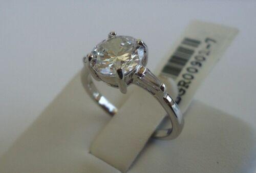 925 STERLING SILVER LADIES WEDDING RING//SZ 5-9 //W// 2.75 CTS DIAMONDS