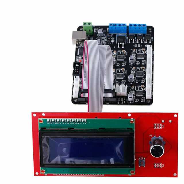 3D Printer Kit MKS Base V1.6 3D Printer Controller Board + 2004 LCD Controller