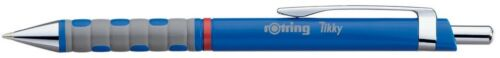 Rotring Tikky Retractable Ballpoint Pen Blue Barrel Pack of 12