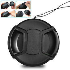 Universal 39mm Snap-On Front Lens Cap Cover Protector w/ cord for Camera SALE oo