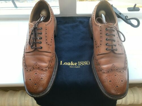 Brogue Loake Brogue Scarpe Misura Oxford Brown 1880 Country Chester Uk 10f fqXwtrX0