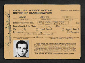 Lee Harvey Oswald Fake ID Reprint On Genuine Original Period 1963 paper