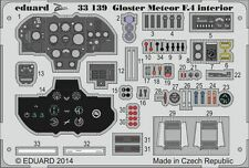Eduard 1/32 Gloster Meteor F.4 Interior for Hong Kong Models # 33139