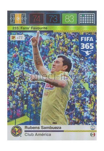 FIFA 365 ADRENALYN XL-Nº 233 Rubens Sambueza-Fans Favourites