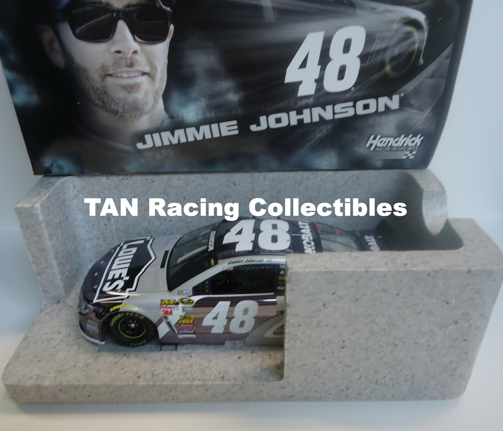 Jimmie Johnson 2015 Lionel  48 Kobalt Tools Couleur chrome Chevy SS 1 24 Free Ship