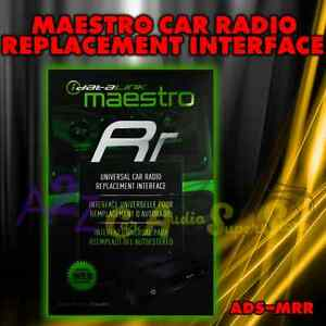 Details about IDATALINK MAESTRO RR ADS-MRR RADIO REPLACEMENT & STEERING  WHEEL INTERFACE