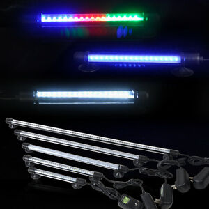 led aquarium beleuchtung aquariumlampe streifen licht lampe wasserdicht ebay. Black Bedroom Furniture Sets. Home Design Ideas