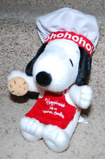"Peanuts Snoopy Chef Hat Apron Cookie Hallmark 2011 Christmas Plush Doll 11"" HTF"