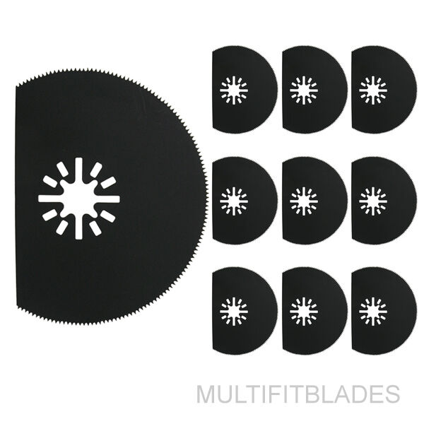 10 x 3-1 8   Flat Circular Oscillating Tool Blades - Fein Multimaster Compatible