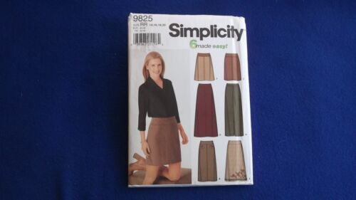14,16,18,20 Listed ~ U-PICK ~ #9830 22 A Simplicity ~ Patterns are Size 14-20
