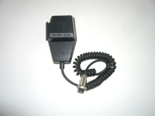 WORKMAN CM4 4 PIN PRO SERIES DYNAMIC COFFIN STYLE CB HAND MICROPHONE FOR COBRA