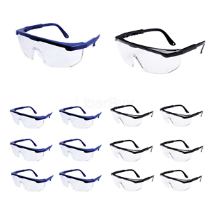 8PCS Safety Glasses for Dart War Kids Outdoor Games Clear Lens Protective Goggle