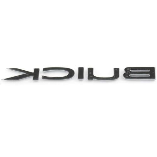 OEM NEW Trunk Lid Logo Emblem Badge Nameplate Chrome 05-11 Buick 15221172