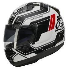 Arai QV Pro Place White Helmet