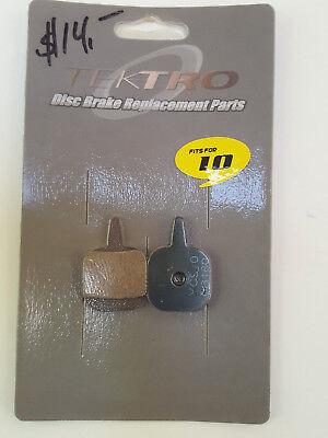 Clarks Brake Pads Disc Resn Tektro Io Vx844