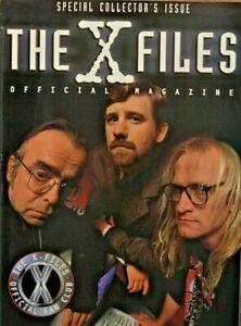 X Files 1998 The Official Magazine Fan Club Scully Mulder Lone Gunmen Ebay