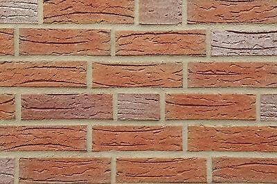 Baustoffe & Holz Professioneller Verkauf Klinker-verblender Strangpress B-lochung Nf Bh1000 Rot-bunt Vormauersteine GläNzende OberfläChe
