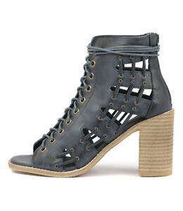 a2cac3e49c7 Details about New Mollini Jayman Navy Womens Shoes Casual Sandals Heeled