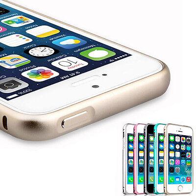 1PC Luxury Slim Aluminium Alloy Bumper Frame Case Cover for iPhone 5 5S