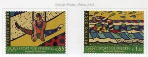 19501-UNITED-NATIONS-Vienna-2008-MNH-Beijing-Olympics
