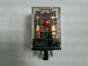OMRON  MK2P-S Relay 10A with Mechanical Indicator and push-to-test button