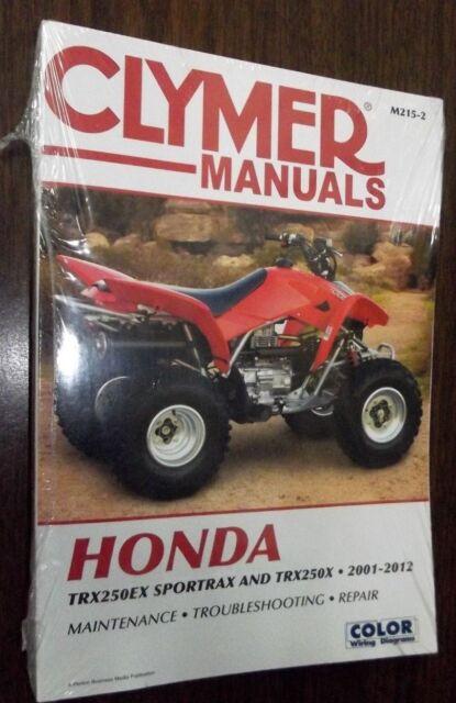 New Clymer Manual Honda 2001