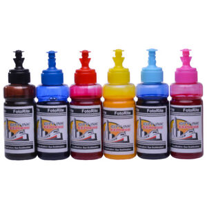 Details about Dye Sublimation ink refill set Fits Epson T0791-6 Range Free  Custom ICC Profile