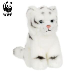 WWF Plüschtier Weißes Tigerbaby (15cm) lebensecht Kuscheltier Stofftier Tiger