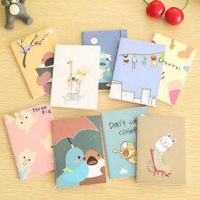 Retro Handmade Journal Memo Dream Notebook Paper Notepad Blank Pocket Diary EF
