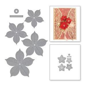 Stanzschablone-Blume-3D-Hochzeit-Weihnachts-Geburtstag-Album-Karte-Einladung-DIY