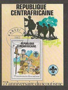 Central-African-Republic-SC-501-Scouting-Year-Souvenir-Sheet-MNH
