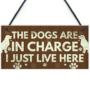 Image Is Loading Funny Dog Gifts For Lovers Sign