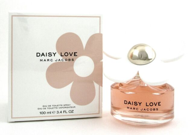 Daisy Love by Marc Jacobs 3.4 oz./100 ml. EDT Spray for Women New Damaged Box