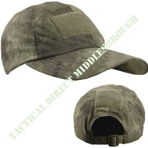 MENS ARMY OPERATORS CAP RIPSTOP COTTON CAMOUFLAGE BASEBALL HAT AIRSOFT CAMO