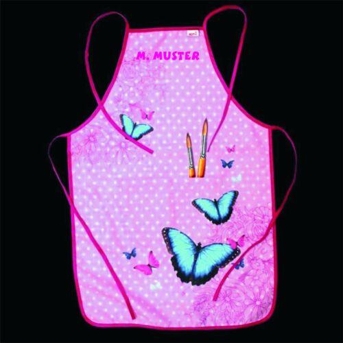 Werkschürze Malschürze auch mit Name Butterfly Schmetterling Schürze