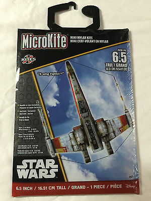 "6.5/"" SEALED Disney Star Wars Micro Kites /""X-Wing Fighter/"""