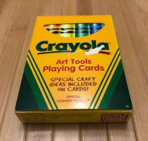 Crayola Crayons Art Tools Card Deck Crayon Bicycle Card Deck Near