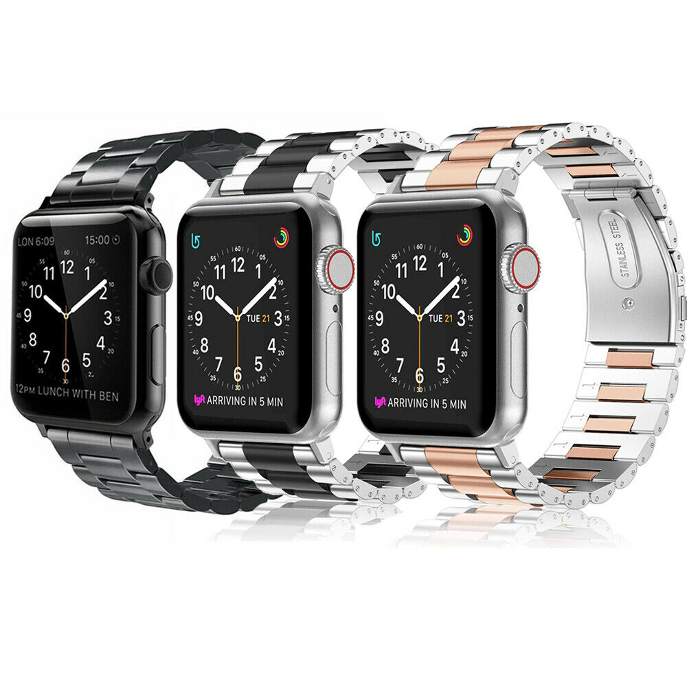 For Apple Watch Series 5 Series 4 44mm 42mm Stainless Steel