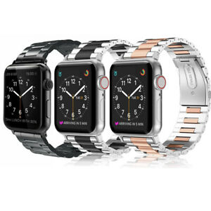 For Apple Watch Series 5 Series 4 44mm 42mm Stainless Steel Band Strap Men Ebay