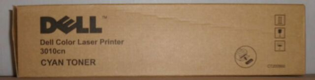 Original Dell TH204 Toner cyan für Dell 3010cn CT200860 593-10155 OVP B