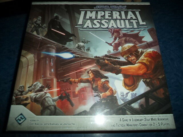 Star Wars Imperial Assault Base Core Fantasy Flight Miniatures Board Game New