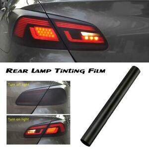 30x100cm-Black-Fly-Eye-Road-Legal-Tinting-Film-Car-Moto-Head-Rear-Light-Lamp