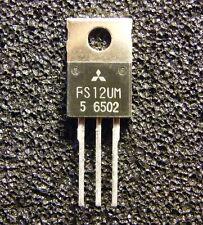 5x FS12UM-5 N-Channel Power Mosfet  250V 12A 0,4Ohm, Mitsubishi