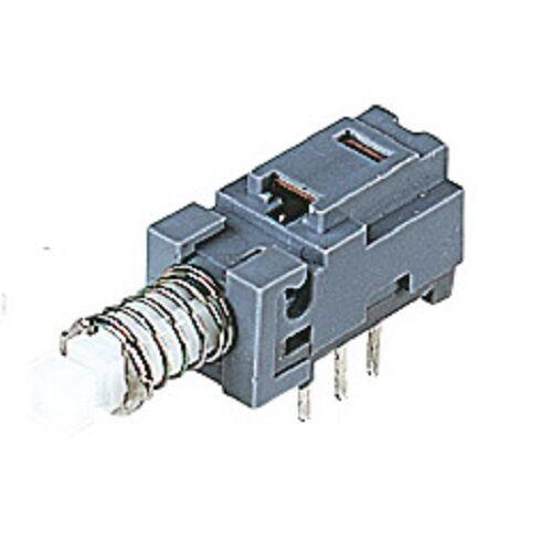INTERRUTTORE Sub-miniature PCB 2 Pole aggancio piccole Pacco da 2