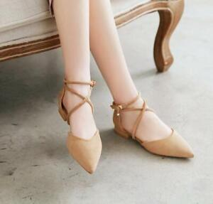 Hot Sale Women Faux Suede Pointed Toe