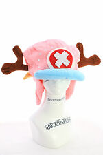 PL-21 One Piece Chopper pink rosa Mütze Hut Plüsch plush Anime Manga Cosplay