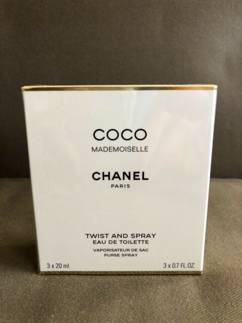 7b8193e754 CHANEL Coco Mademoiselle Eau De Toilette Twist & Spray 3x20ml for ...