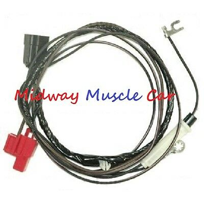 hood tach feed wiring harness 69 70 71 72 Pontiac GTO ...