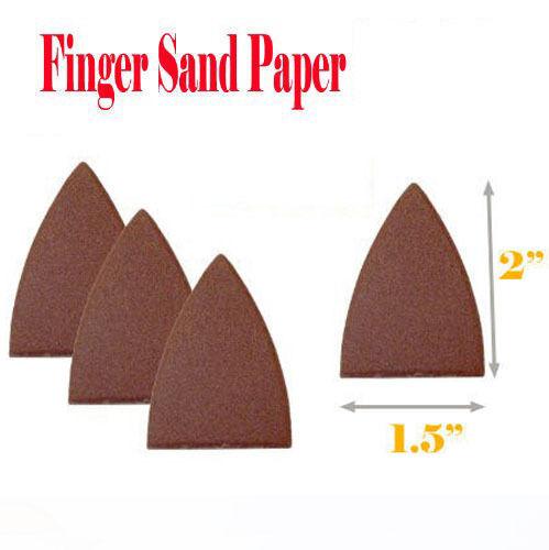 "2/"" Detail Triangular Sanding SandPaper for Oscillating Multi tool Pad Paper"